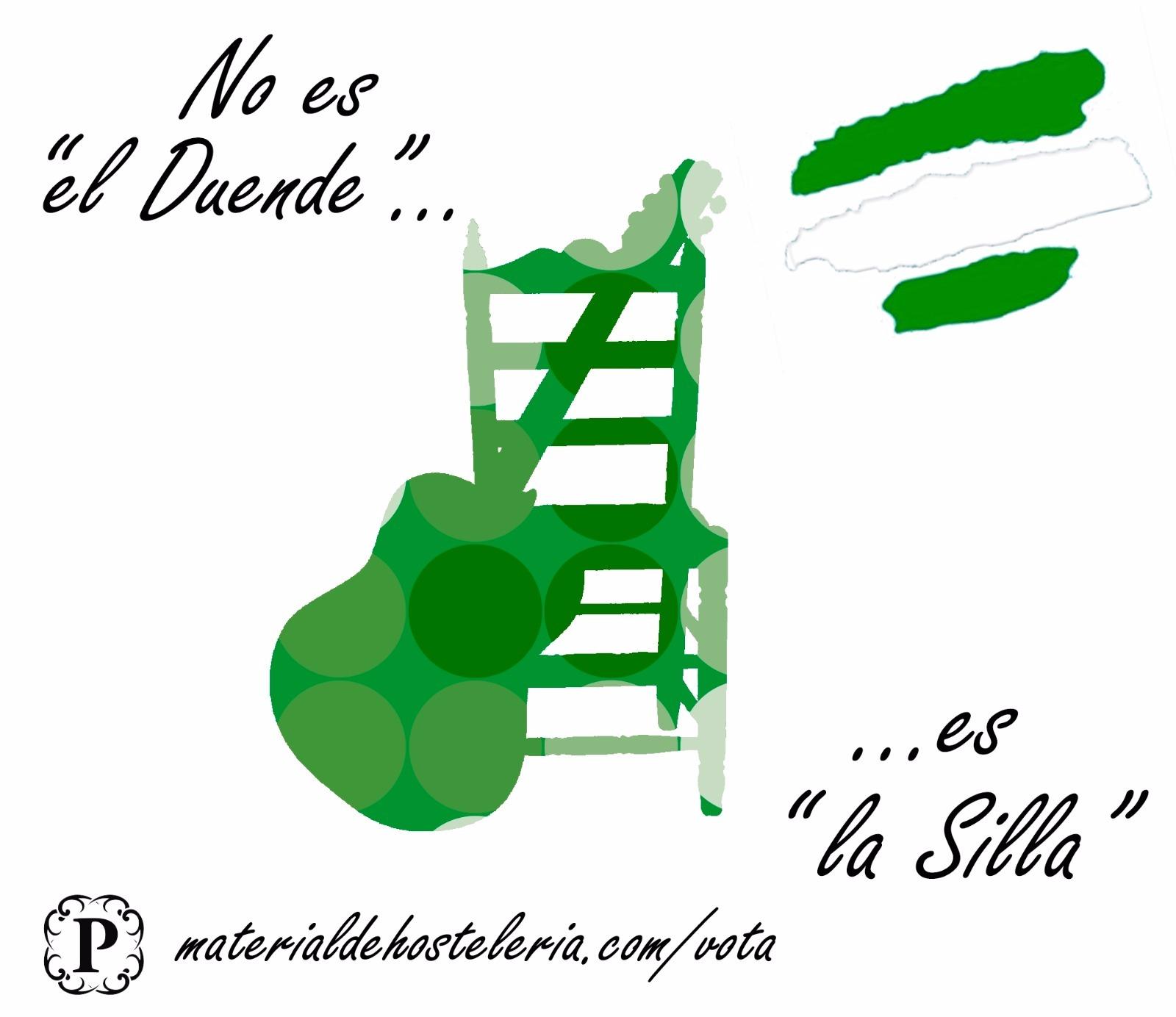 Vota Producto Andaluz - Silla Sevillana Plegable