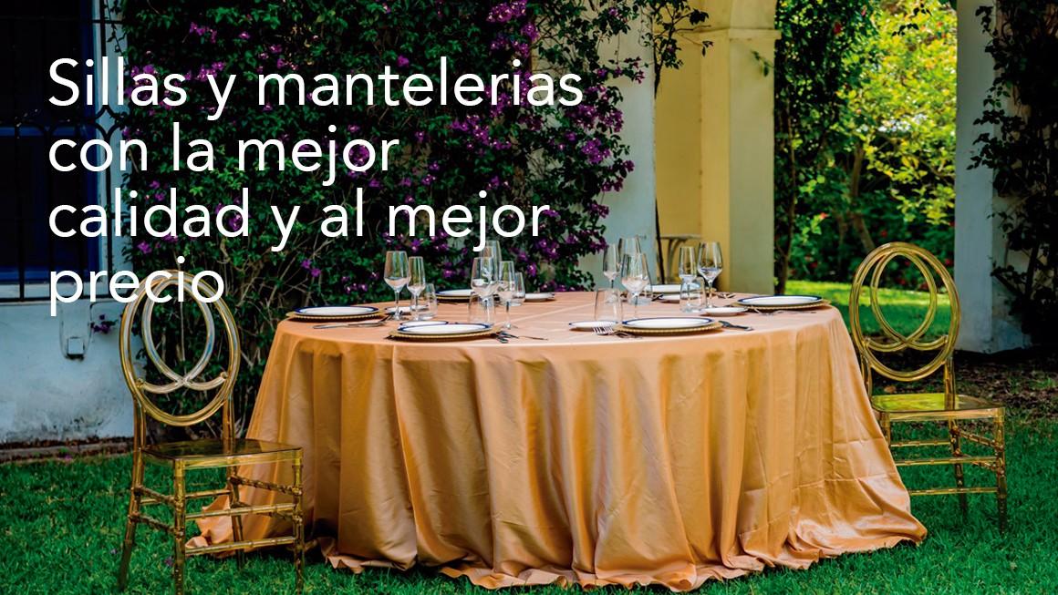 SILLAS Y MANTELERIAS